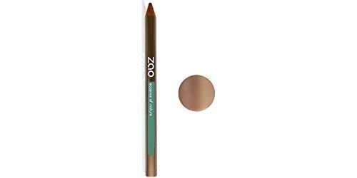 ZAO Holzstift 603 beige mit Schimmer Kajal Eyeliner Augenbrauenstift Lipliner (bio, Ecocert, Cosmebio, Naturkosmetik)