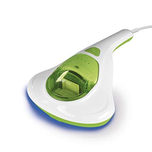MAXXMEE Milben-Handstaubsauger | Antimilben-Sauger mit UV-C-Licht, Reinigung und Desinfizierung in einem Schritt | inkl. HEPA Filter [Matratzensauger]