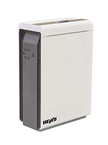 HEYLO® HL 400 V Design Luftreiniger mit Schutz Paket - Luftfilter Air Purifier mit HEPA 14 HP14 Filter - Profi Raumluftreiniger - MADE IN GERMANY