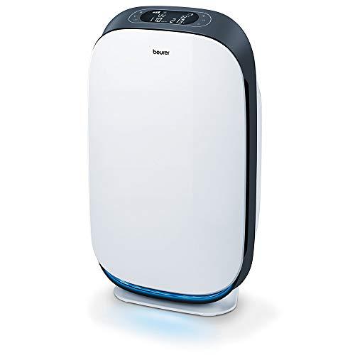 Beurer LR 500 Luftreiniger, mit HEPA-Filter H13, App-Steuerung über WLAN, filtert diverse Bakterien und Viren, mit Timer und Nachtmodus, für Räume bis 106m²