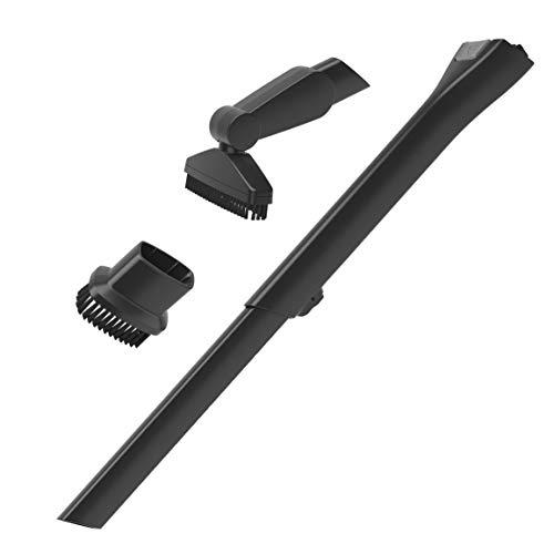 AEG AKIT14 Erweiterungsset für Akkusauger CX7-2 mit Elektroanschluss & QX8 (Staubsaugerdüsen, Zubehör, Ausziehbare Fugendüse, Abwinkelbare Bürste, Minipinsel, Detailreinigung, Zuhause, Auto, schwarz)