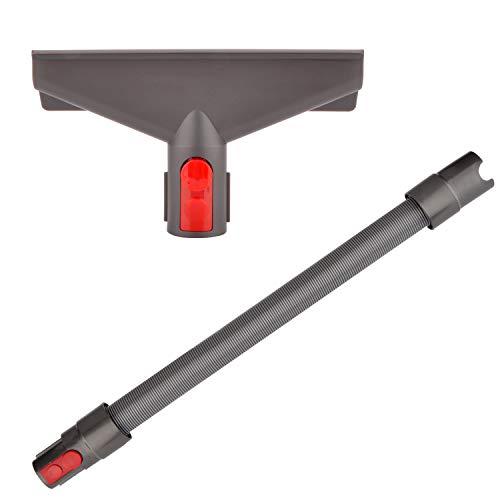 Breite Polsterdüse Zubehör mit Verlängerungs-Schlauch für Dyson V15 V7 V8 V10 V11 SV10 SV11 Staubsauger (2 in 1)