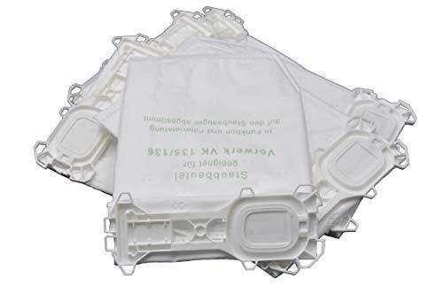 24 Microvlies Staubsaugerbeutel geeignet für Vorwerk Kobold 135, 136 und SC-Modelle 4-lagig