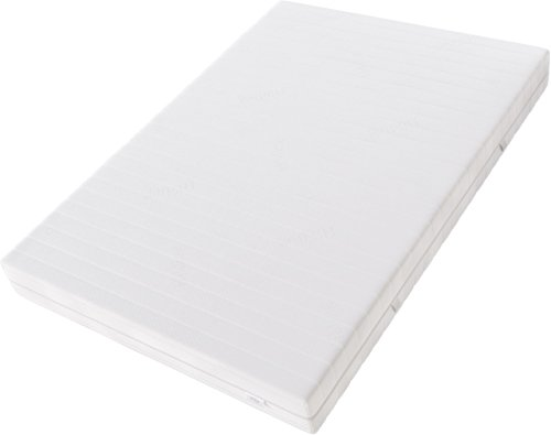 Hilding Sweden Komfortschaum (RG32) Mittelfeste 7-Zonen Matratze für Alle Schlaftypen (H4)/200 x 80 x 21 cm Kaltschaummatratze, Schaumstoff, Weiß, 200 x 80 cm