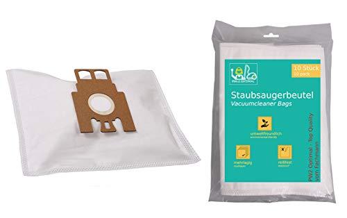 PW2 Optimal 10 Stück Staubsaugerbeutel geeignet für Miele S8340 Ecoline Allergiker || Miele S 8340 Ecoline Allergiker mit Zusatzfilter