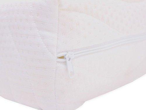 Best For You Matratzenbezug 10 cm Easy Active Cool für Allergiker geeignet 3-seitiger Reißverschluss Bezug für Matratzen von 60x120x10 bis 200x200x10 cm (70x140)