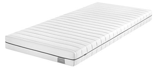 Traumnacht Basis Kaltschaummatratze mit 7-Zonen-Schnitt für alle Schlaftypen H2, 80 x 200 cm, weiß