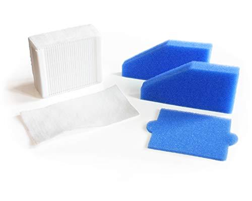 MI:KA:FI Filter-Set komplett | für Thomas Aqua+ Staubsauger | Pet & Family + Allergy & Family + Multi Clean X8 Parquet + Multi Clean X10 Parquet + Anti Allergy + Multi Clean X7 | wie Filterset 99