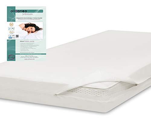 allsaneo Premium Encasing Matratzenbezug 180x200x30 cm, Allergiker Bettwäsche extra weich und leicht, Anti-Milben Zwischenbezug für Matratze
