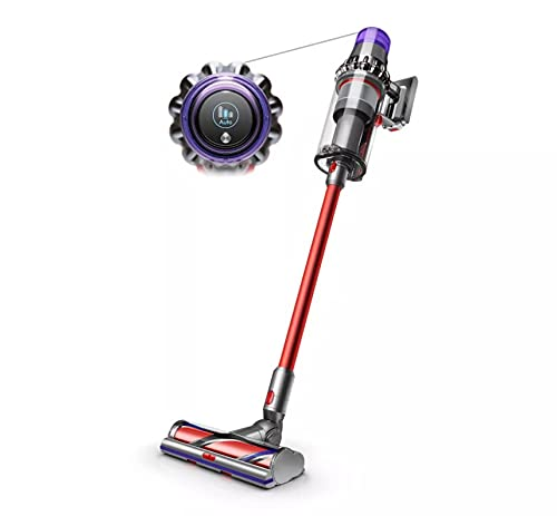 Dyson V11 Outsize kabelloser Staubsauger, Nickel/Rot