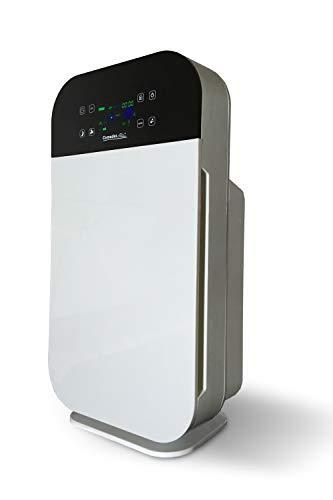Comedes Lavaero 280 – Starker 7-Stufen Luftreiniger, Rauchverzehrer inkl. Aktivkohle, HEPA-Filter und Ionisator | Mit Luftqualitätssensor | Ideal für Allergiker, Asthmatiker & Raucher | Räume bis 55m²