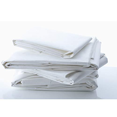 Allergiker Milben Bettwäsche Matratzenbezug, rundum 160 x 200 cm, Encasing Milbenkotdicht Höhe 20 cm, Milbenschutz für Hausstauballergiker