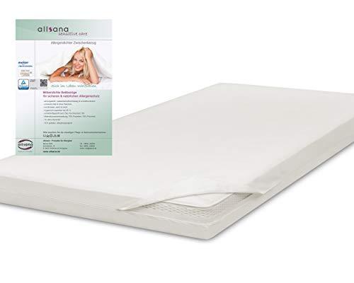 allsana Allergiker-Matratzen-Bezug 180x200x8cm für Topper Anti Milben Encasing