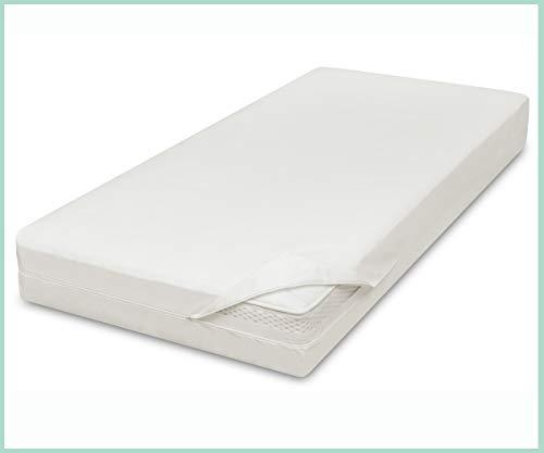 allsana Allergiker Matratzenbezug 160x200x24 cm Allergie Bettwäsche Anti Milben Encasing Milbenschutz für Hausstauballergiker