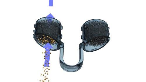 Best Breathe ANTIPOLLEN-Filtersystem für die Nase, NF05014, Dreierpackung mit jeweils einem Filterträger der Größen S, M und XL, zum Ermitteln der richtigen Größe, mit 30 Nasenfilter-Einsätze, zum FILTERN von POLLEN und Staubpartikeln zwischen 20 und 60 µm. Filtert Pollen, Hautschuppen, Staub, Schimmelsporen und andere Allergene! Schüzen Sie sich vor Umweltverschmutzung!