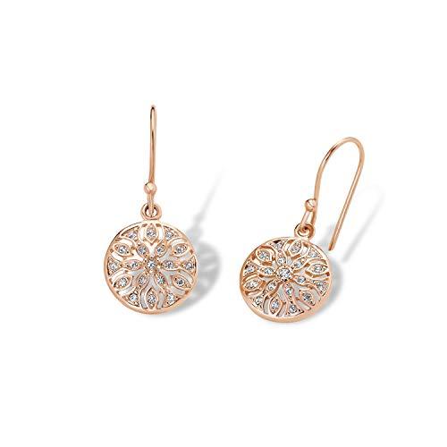 amor Ohrring für Damen, Sterling Silber 925, Kristall