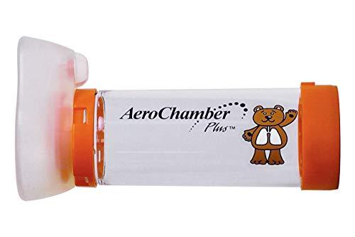 AeroChamber Plus 99XX0247 VHS Gerät mit Maske für Säuglinge, orange