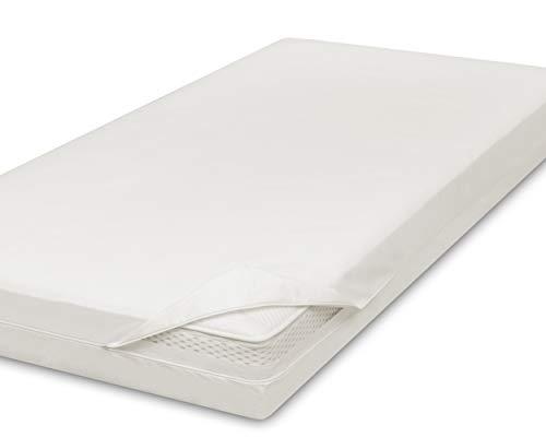 allsana Allergiker Matratzenbezug 160x200x20 cm Allergie Bettwäsche Anti Milben Encasing Milbenschutz für Hausstauballergiker