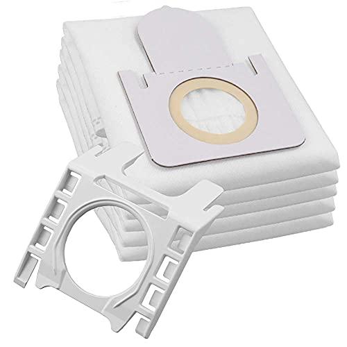 5 Hochwertige Staubsaugerbeutel + Halterung - Für Thomas Aqua Pet & Family, XT, XS, X7 X8 X10 uvm. - Bestleistung beim Saugen