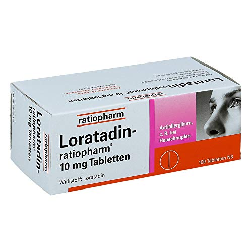 LORATADIN-ratiopharm 10 mg Tabletten 100 St