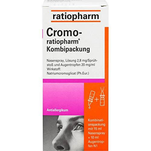 Cromo-ratiopharm Kombipackung Nasenspray + Augentropfen Antiallergikum, 1 St. Kombipackung