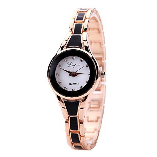 Armbanduhr Damen Uhren Schmuck Quarzuhr Analog Edelstahlarmband Muttertagsgeschenk Geburtstagsgeschenk Mode Luxus Damen Uhren Damen Armbanduhr Uhr für Mutter Frauen Mädchen Gold Silber