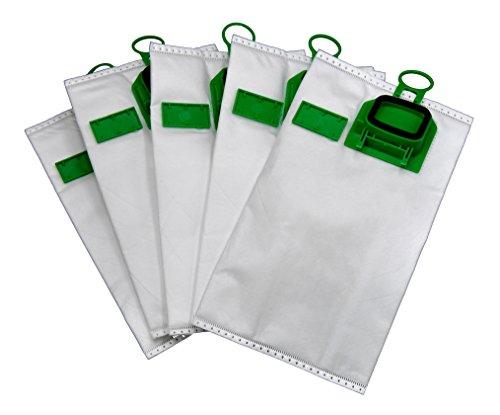 12 Staubsaugerbeutel 5 lagig Allergiker geeignet Premium Microvlies, geeignet Vorwerk Kobold VK 140 VK 150