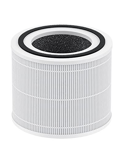 TCL BREEVA A1C Ersatzfilter für Luftreiniger, echter HEPA und Aktivkohlefilter,BREEVA A1CF, 1 Packung, weiß