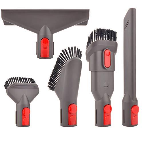 Staubsauger Zubehör Set Bürste Tool Düse Set Ersatzteile für Dyson V7 V8 V10 V11 SV10 SV11 Staubsauger (5 in 1)
