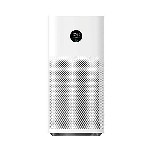 Xiaomi Mi Smart Air Purifier 3H Luftreiniger (3-fach HEPA 13 Filtersystem: filtert 380 qm3 pro Stunde, Filterwechsel-Alarm, OLED Touch Display, Kompatibel mit Mi Home App, Alexa und Google Assistent)