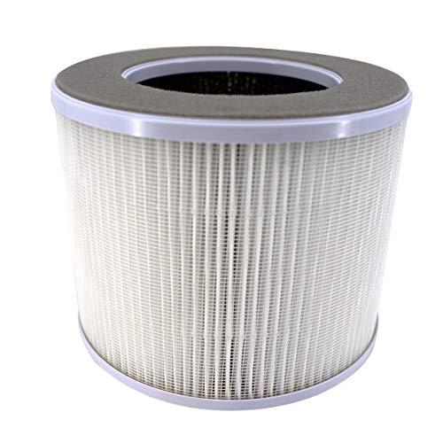 ANSIO 1092 Ersatzfilter für Luftreiniger mit True HEPA Aktivkohlefilter (1091, 1099 Luftreiniger)
