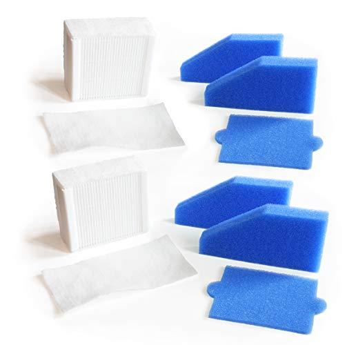 MI:KA:FI 2x Filter-Set komplett | für Thomas Aqua+ Staubsauger | Pet & Family + Allergy & Family + Multi Clean X8 Parquet + Multi Clean X10 Parquet + Anti Allergy + Multi Clean X7 | wie Filterset 99