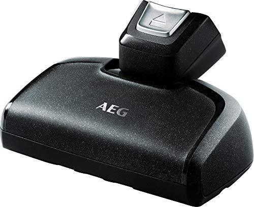 AEG, AZE134 Elektrosaugbürste (Zubehör, Düse für Handteil des CX7-2 und QX8, Tiefenreinigung von Möbeln und Matratzen, entfernt tiefsitzenden Schmutz, ideal für Tierbesitzer und Allergiker), schwarz