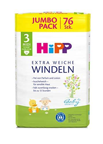 HiPP Babysanft Windeln Midi 3 Jumbo