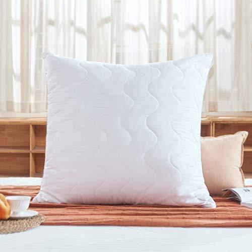 Sweetnight Kopfkissen, baumwolle, weiß, 80 x 80 cm