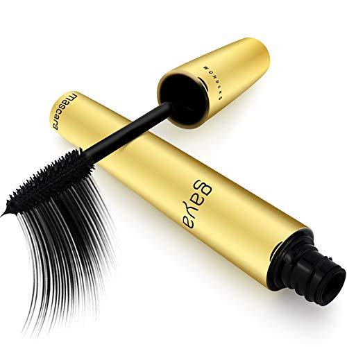 Gaya Cosmetics Vegan Wimperntusche Mascara - Wimpernverlängerung für Augen Schminken zur visuellen Verlängerung Natürlicher Wimpern (Schwarz Black)