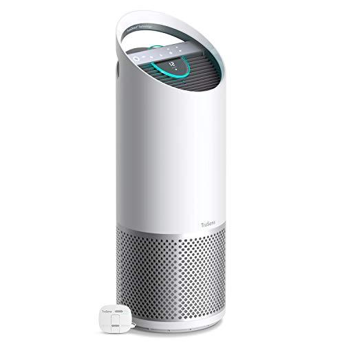 Leitz TruSens Z-3000 Luftreiniger, Remote SensorPod, 360 Grad Dupont Filtersystem mit HEPA Filter, UV Lampe tötet luftübertragenen Bakterien und Viren