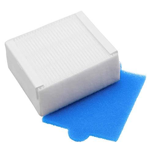 vhbw Spezial-Hygienefilter Set kompatibel mit Thomas Anti Allergy Aqua+, Multi Clean X7 Aqua+, Pet & Family Aqua+ Staubsauger