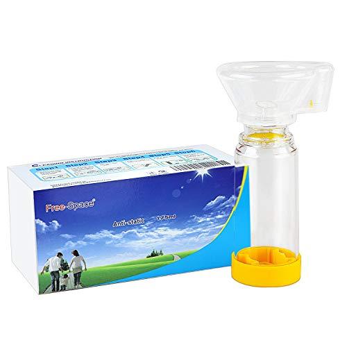 Aerochamber Plus Inhalator Spacer Chamber für Erwachsene, Kinder, Aerosol Asthma, kommen mit Maske (Mittel)