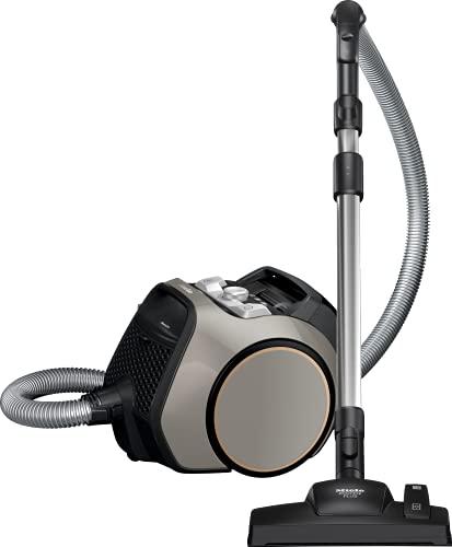 Miele Boost CX1 Allergy – Beutelloser Staubsauger mit Vortex-Technologie, EcoTeQ Plus-Düse und HEPA AirClean Filter – Leistungsstark, kompakt und wendig – In Kaschmirgrau/Roségold