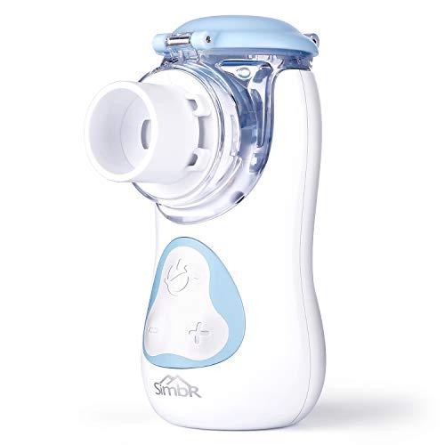SIMBR tragbar Inhalator Vernebler, Fünf Gang einstellbare Geschwindigkeit für Kinder und Erwachsene