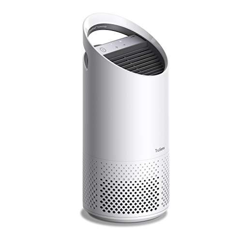Leitz TruSens Z-1000 Luftreiniger Mit UV-C-Lampe fängt Keime und Bakterien, Viren, Allergene, Staub, Gerüche und Rauch ab und liefert schnell saubere Luft in einem kleinen Raum