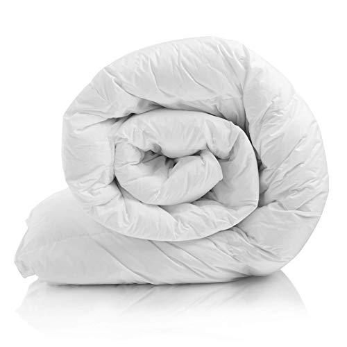 Bettdecke 200x200 cm, Steppbettdecke antiallergisch für Allergiker, Weiche & Warme Ganzjahresdecke, Steppdecke atmungsaktiv