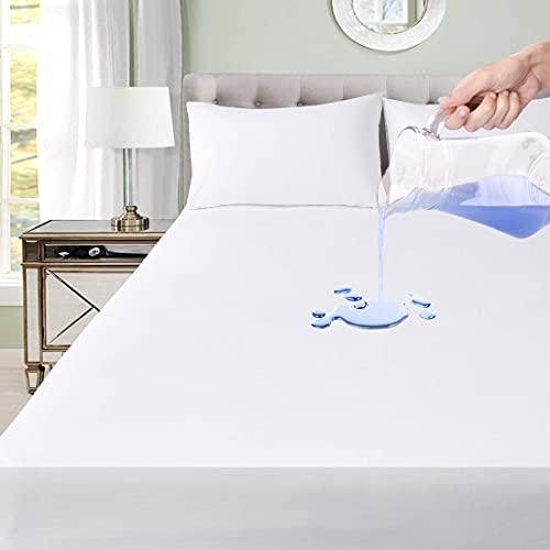 Utopia Bedding Wasserdichter Reissverschluss Premium Matratzenbezug 90 x 200 x 20 cm, Bettwanzen Und Staubmilben Proof Matratzenbezug
