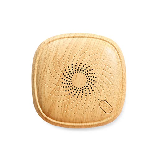 SSBOY 360 ° Ohne Toten Winkel Mini Milbencontroller, Klein Ultraschall Doppelkopf Geräuschloser Allergie-Controller, Wirksam Entfernt Staubmilben, Bakterien, Haushalt,C