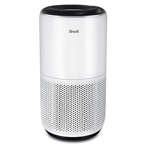 LEVOIT Luftreiniger für große Räume Wohnung 83㎡, H13 HEPA Filter PM2,5 Luftqualitätssensor, Air Purifier mit APP Alexa gegen 99,97% von Staub Pollen Rauch für Allergiker, Automodus Nachtmodus Timer
