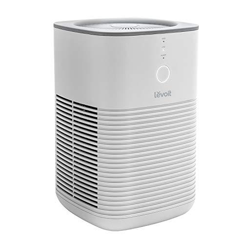 Levoit Luftreiniger Allergiker Raucherzimmer, Air Purifier mit dualen H13 HEPA Aktivkohlefilter entfernt 99,97% von Staub Pollen Gerüche, bis zu 15 m², leiser Schlafmodus, 2 Gebläsestufen, ozonfrei