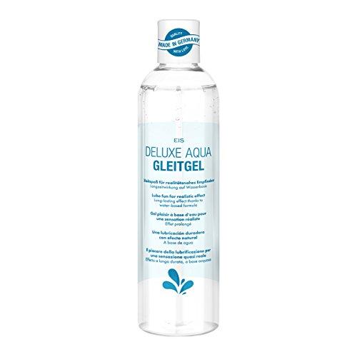 EIS, Deluxe Aqua Gleitgel, wasserbasierte Langzeitwirkung, Künstliches Sperma, 300 ml