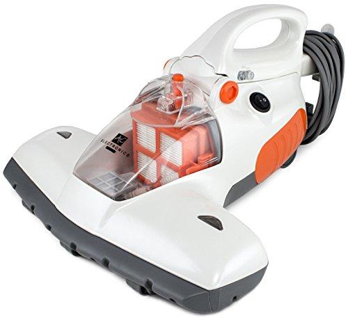BRUBAKER Antibakterieller UV-Licht-Milbensauger Staubsauger 800 Watt inkl. Teleskopstange ideal für Allergiker