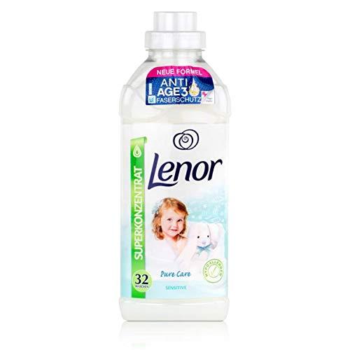Lenor Pure Care Sensitive Weichspüler 800ml / 32 WL Waschladungen
